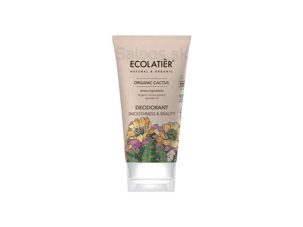 organic cactus desodorante smoothness beauty 40 ml 1 g