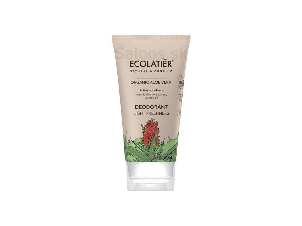 organic aloe vera desodorante light freshness 40 ml 1 g