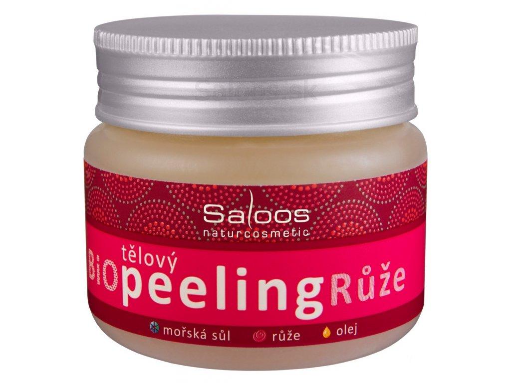 Saloos - Ruža telový peeling 140 ml
