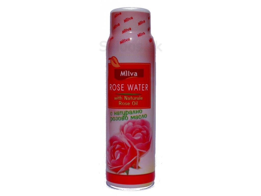 Milva - Ružová voda s naturálnym ružovým olejom 100 ml