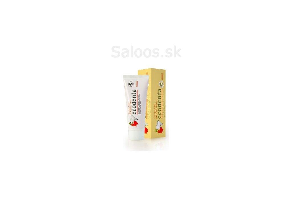 Ecodenta - Ecodenta detská zubná pasta jahoda 75 ml