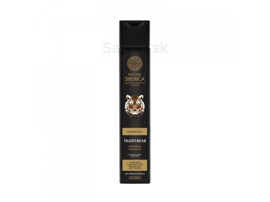 "Natura Siberica - Energizujúci šampón 2 v 1 ""Tiger"" 250 ml"