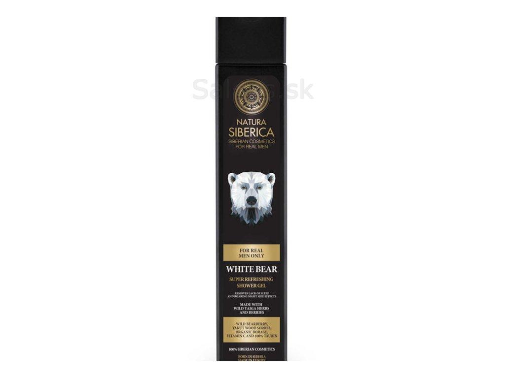 """Natura Siberica - Osviežujúci sprchový gél """"Biely Medveď"""" 250 ml"""