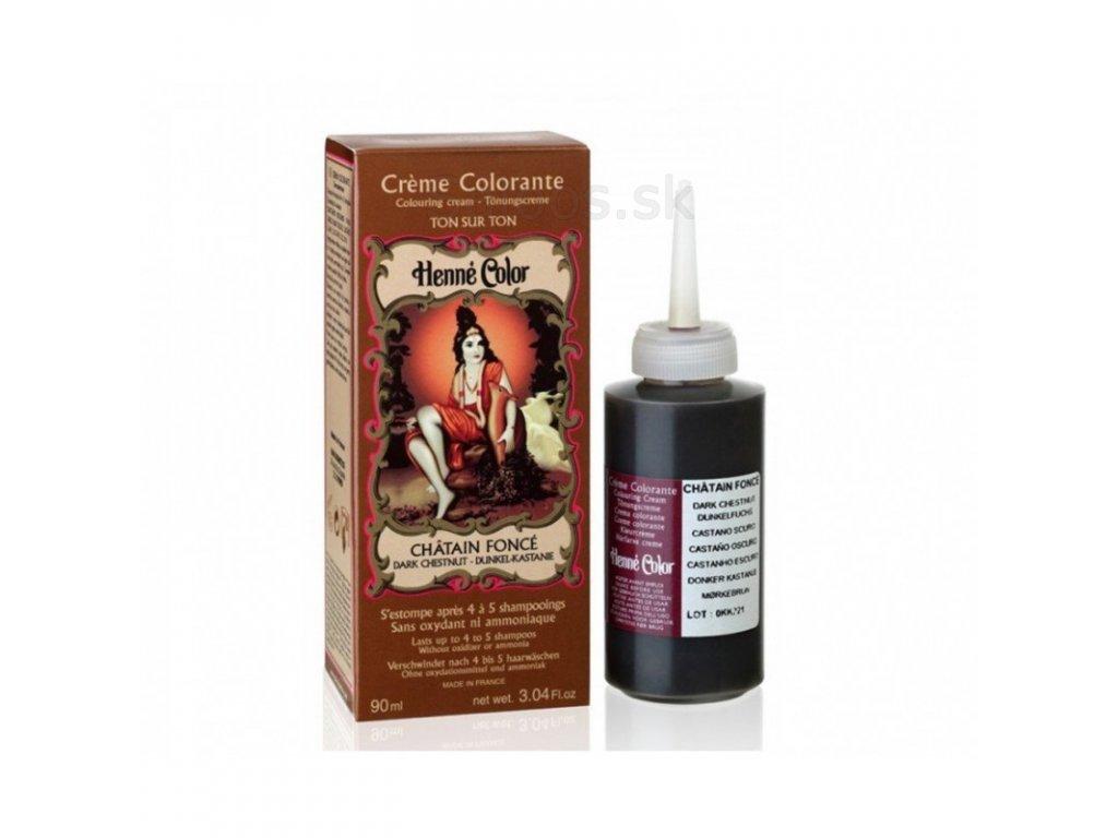 Henne Color - Tónovacia Henna tmavogaštanová 90 ml