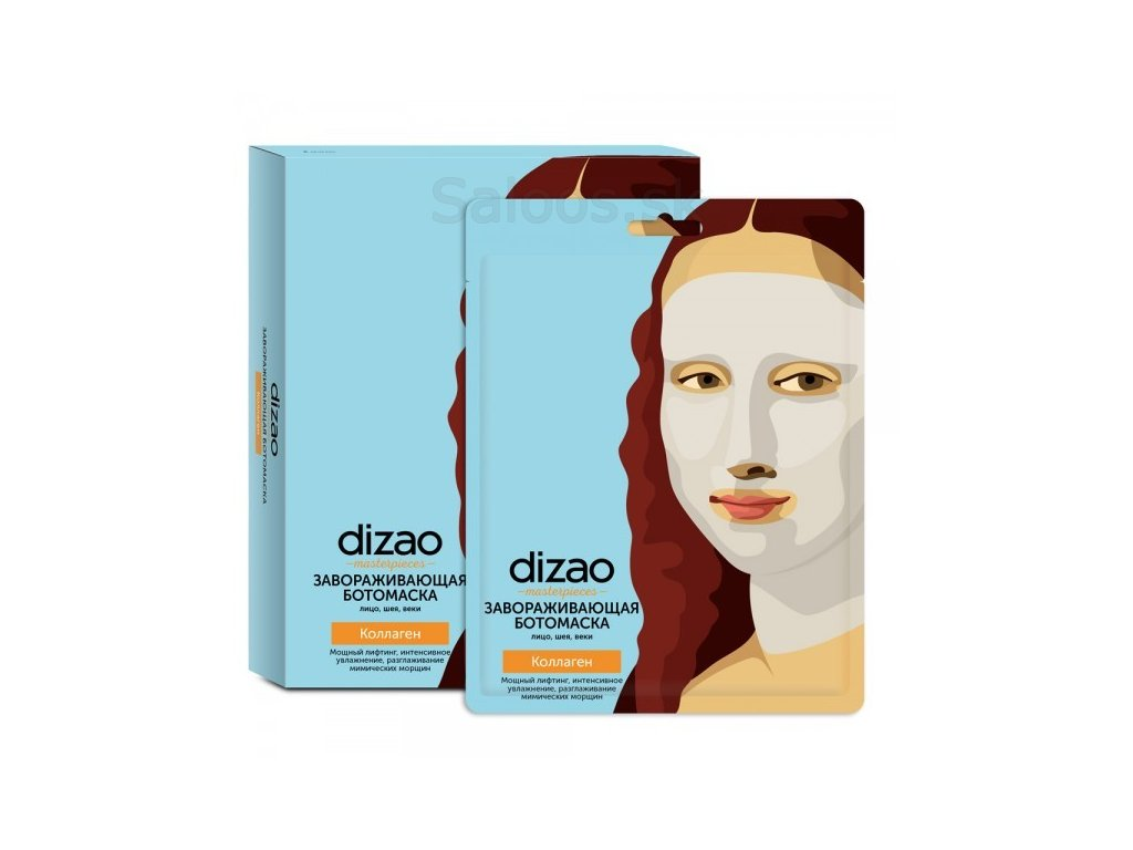 Dizao - Kolagénová maska na tvár a krk