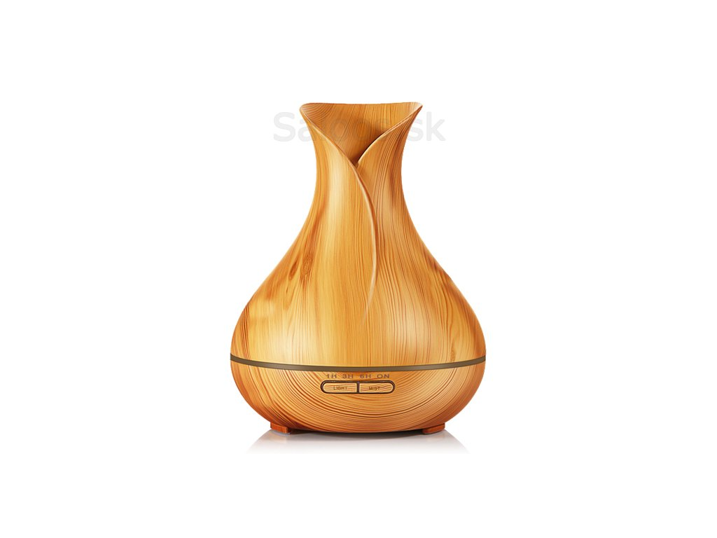 Saloos - Ultrazvukový Aroma difuzér váza