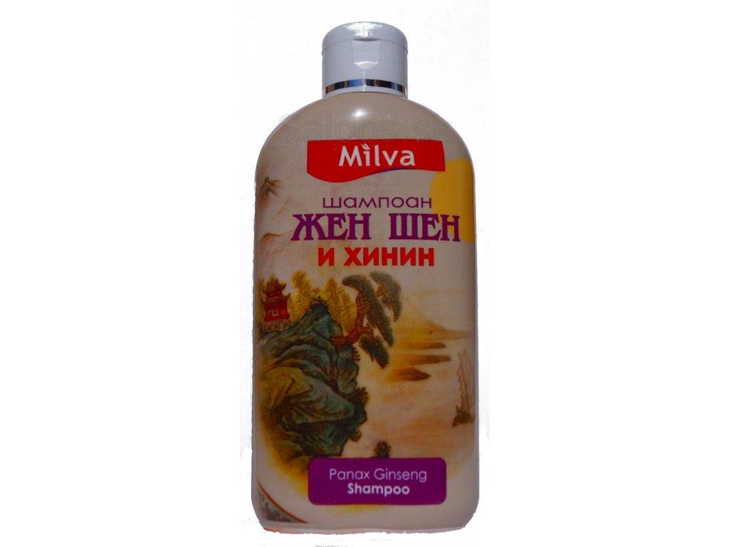 Milva - Ženšen a chinín šampón