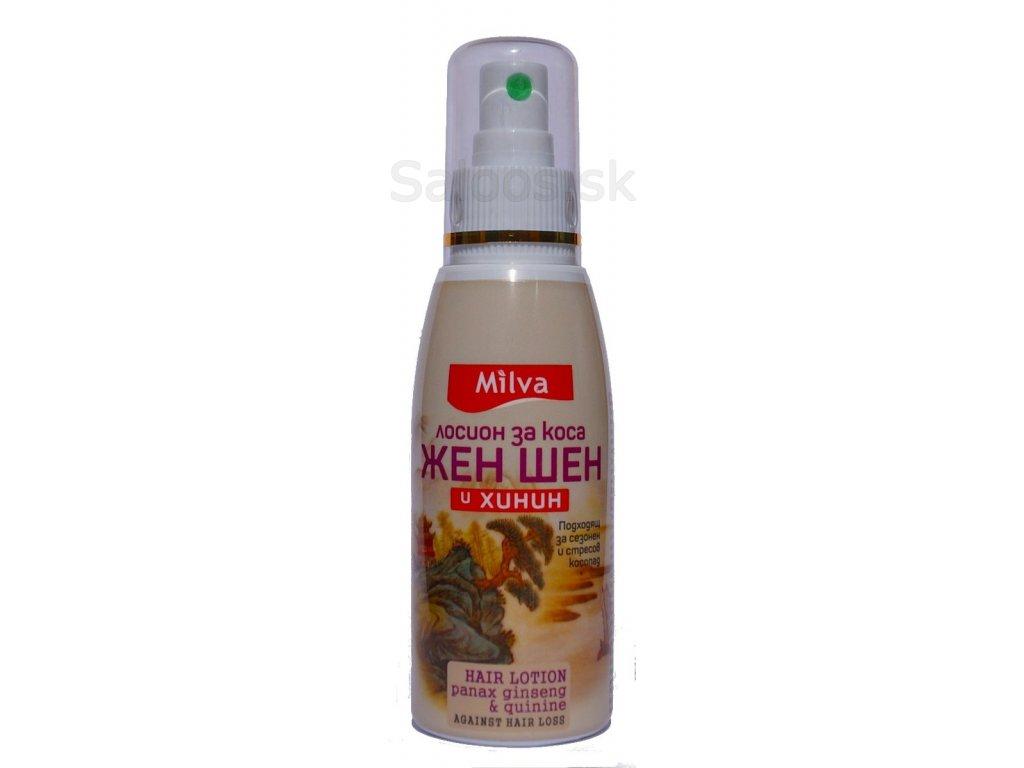 Milva - Chinínová voda so ženšenom