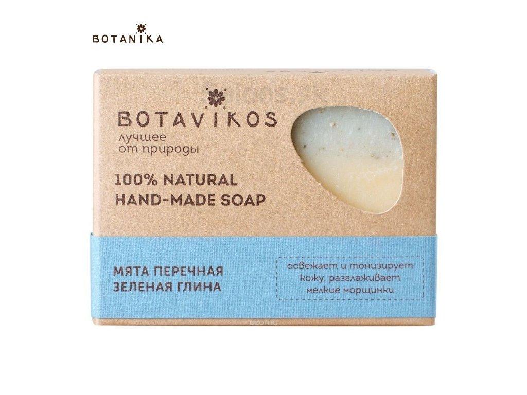 Botanika - Handmade mydlo s tea tree a zeleným ílom 100 g