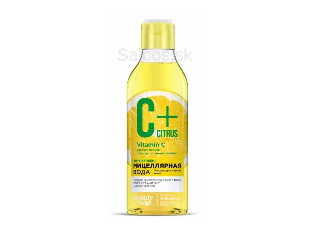 Fito cosmetics C+ citrus micelárna voda 250 ml