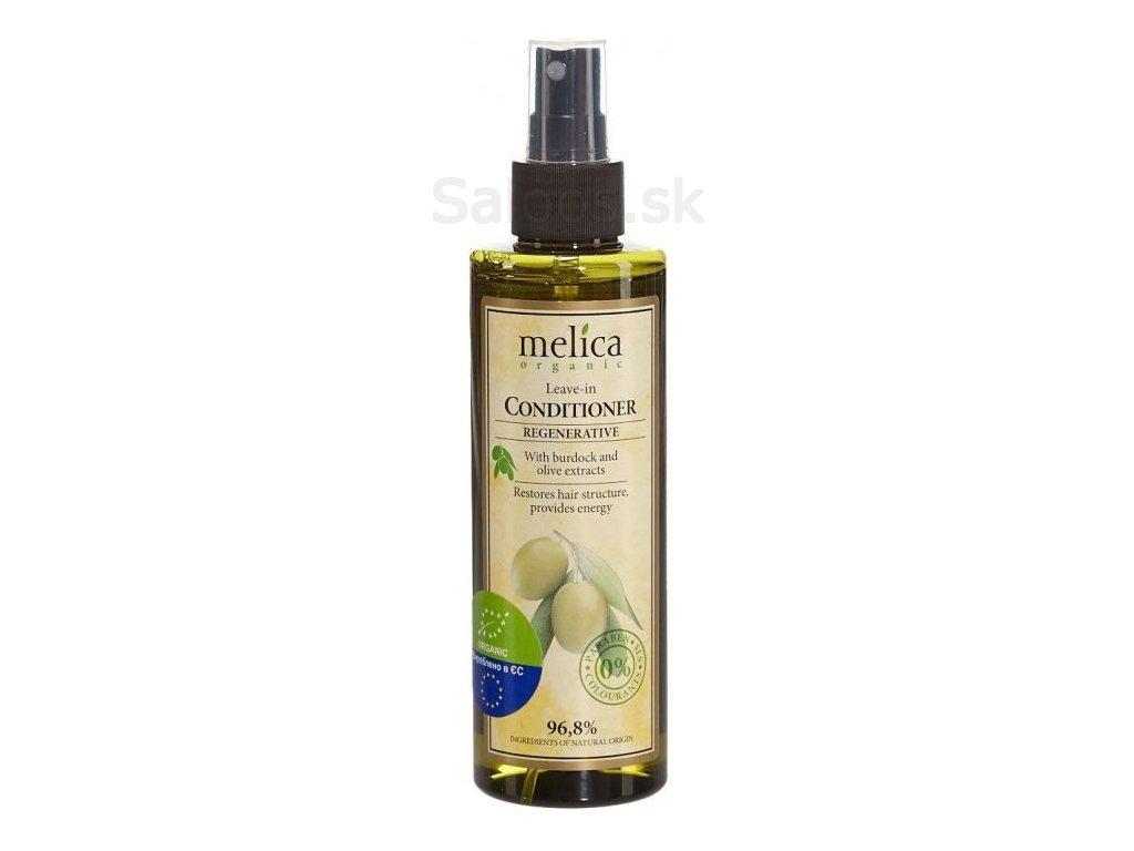 Melica - Neoplachovací kondicionér na vlasy s extraktom lopúcha a olív 200 ml