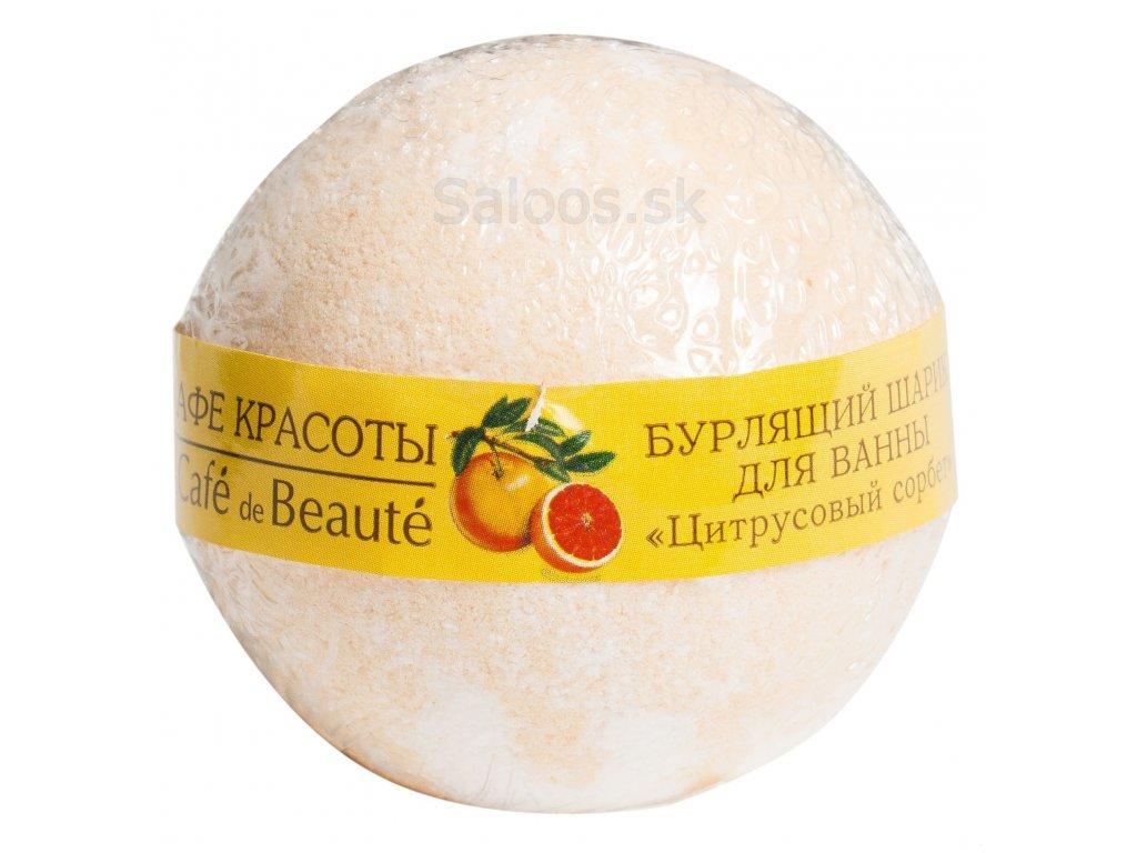 Le Café de beauté - Gulička do kúpeľa Citrus 120 g