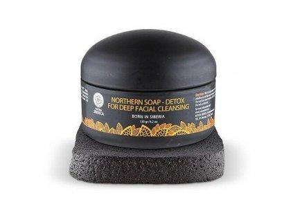 Natura Siberica - Severské čierne mydlo DETOX 120 ml