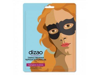 Dizao - Maska na očné okolie s čiernym uhlím