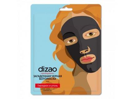 Dizao - Maska na tvár s čiernym uhlím