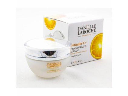 danielle laroche drekinamasis veido kremas su vitaminu c 50 ml