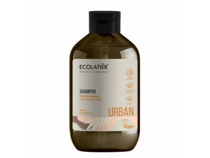 ecolatier sampunas luzinejantiems plaukams taukmedis ir magnolija 600 ml