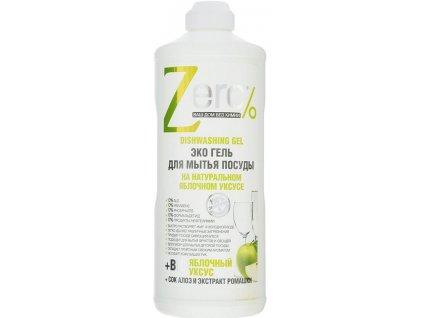 ZERO - Ekologický čistiaci prostriedok na riad Jablko - Aloe Vera 500 ml