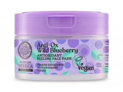 Antioxidant peeling face pads, 20 pcs 3D (2)