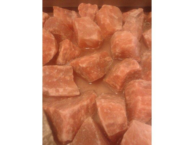 Solné kameny - růžové 30-50 mm