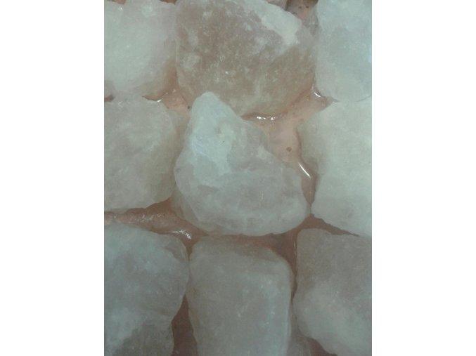 Solné kameny - bílé 40-60 mm