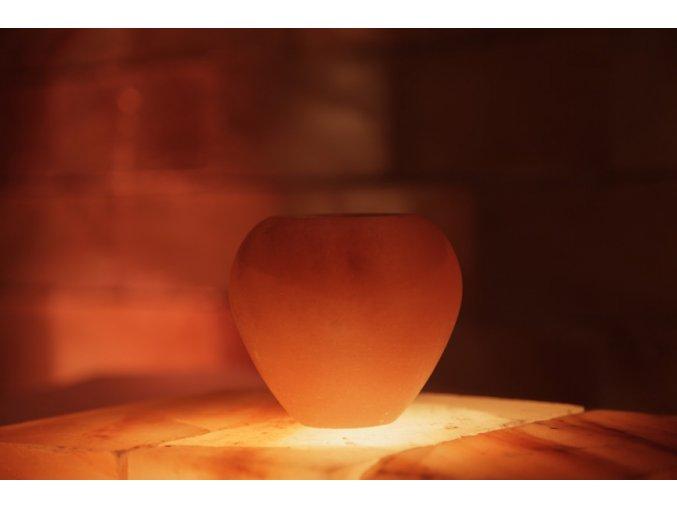 Solný svícen Ukrojené jablko
