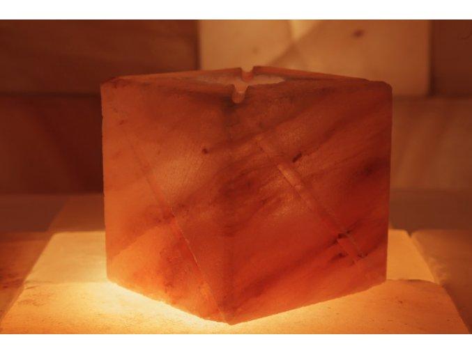 Solný svícen Broušený svícen - Čtyřhran