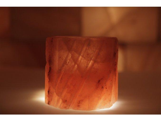 Solný svícen  Broušený svícen - Mozaik