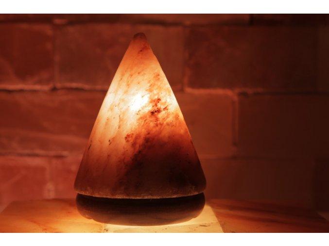 Solná elektrická lampa Jehlan