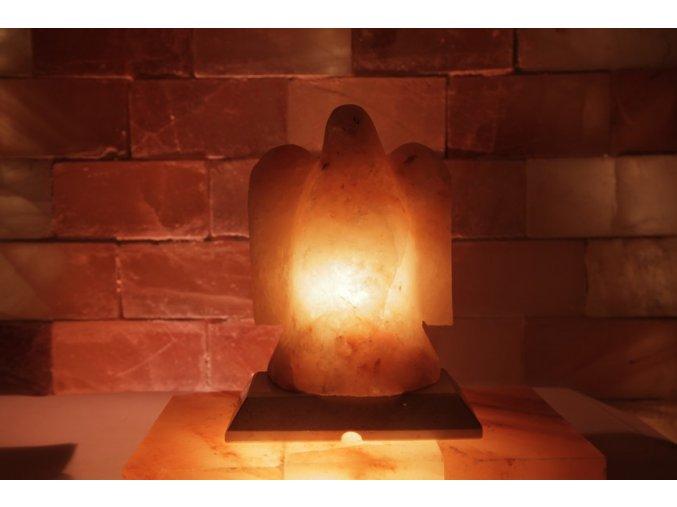 Solná elektrická lampa Orel