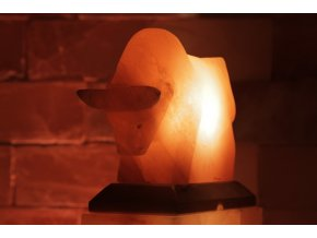Solná elektrická lampa Býk