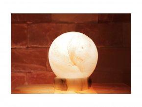 Solná elektrická lampa Globus malý