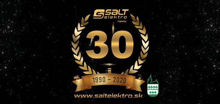 SALT Elektro oslavuje 30 rokov