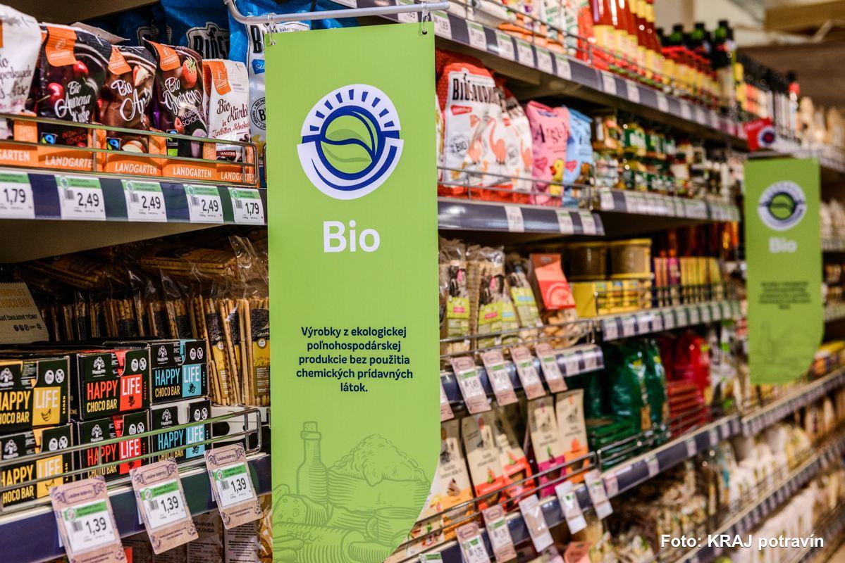 Akcia v sieti predajní KRAJ potravín