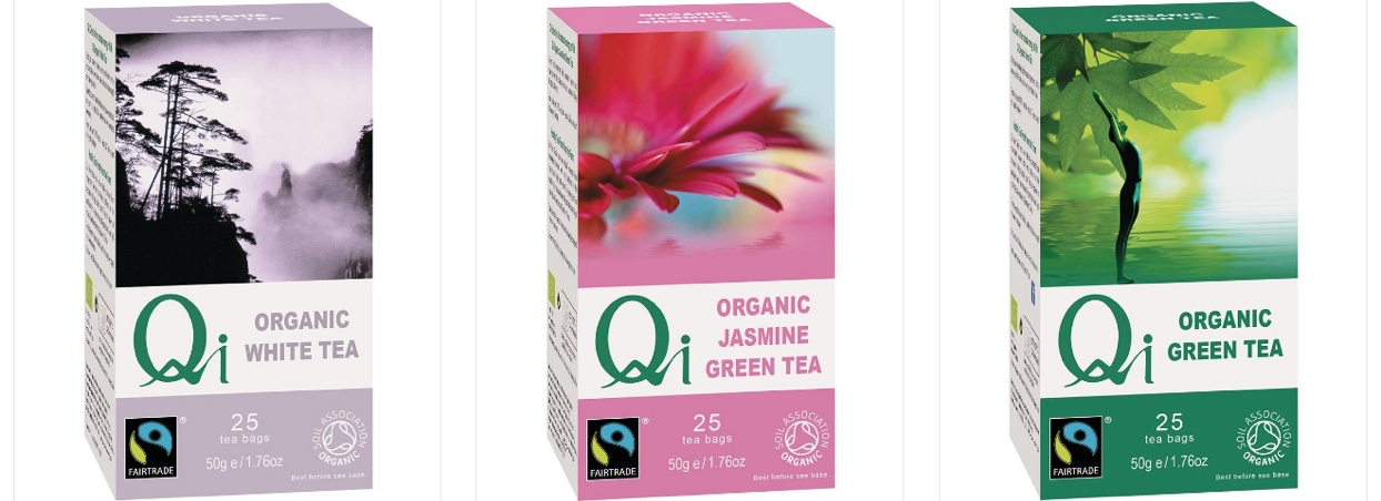 SAMAY BIO organic Fairtrade Qi Teas