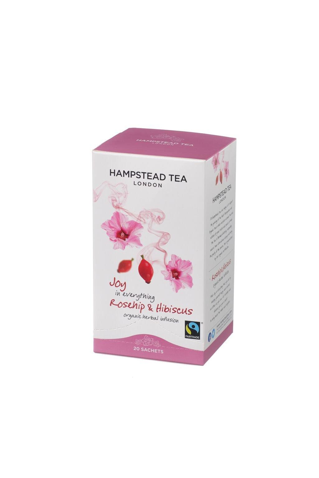Organic FT Rosehip Hibiscus Tea Bags
