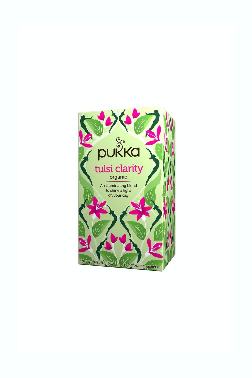 SAMAY Tulsi Clarity caj BIO Fairtrade PUKKA