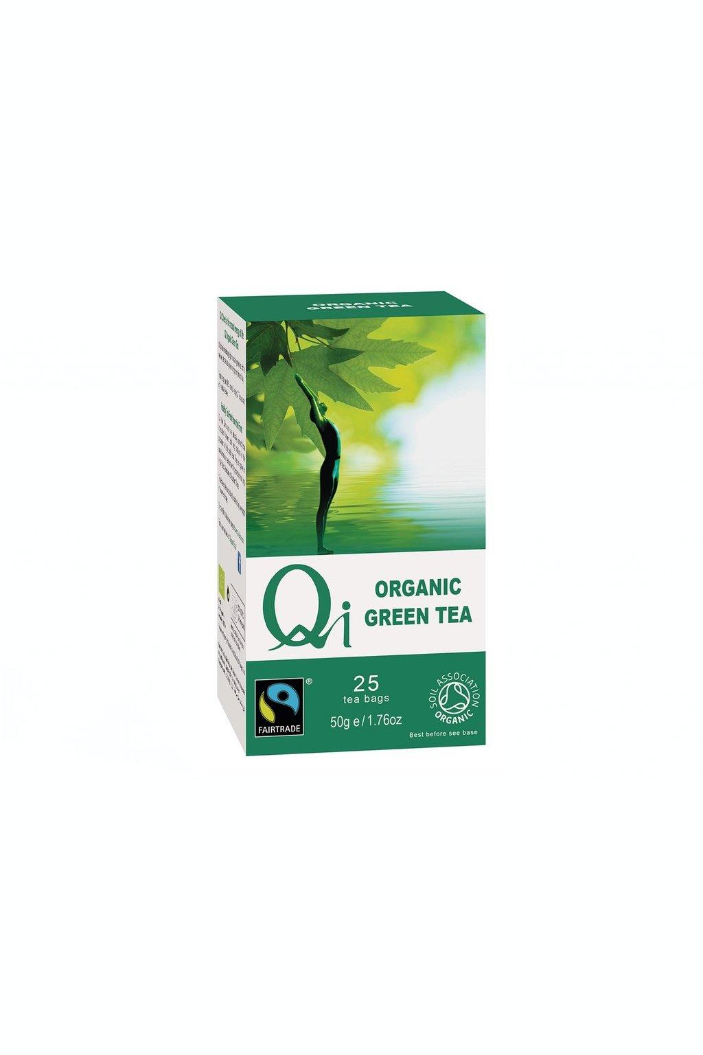 SAMAY Qi Teas BIO Fairtrade zeleny caj