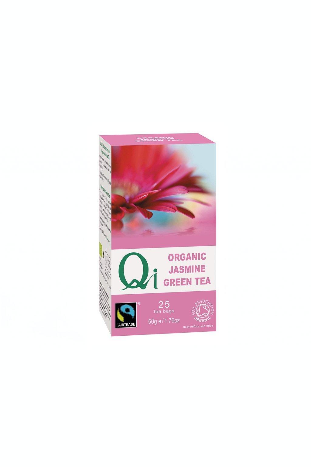 SAMAY Zeleny jazminovy caj BIO Fairtrade Qi Teas