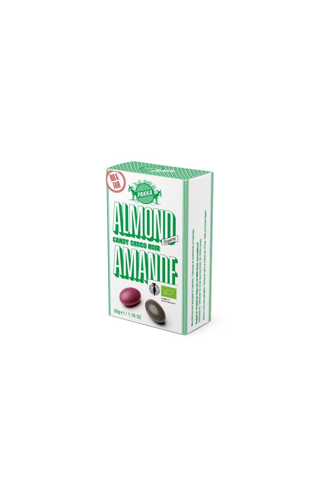 Pakka Mandle candy v horkej cokolade BIO Fairtrade