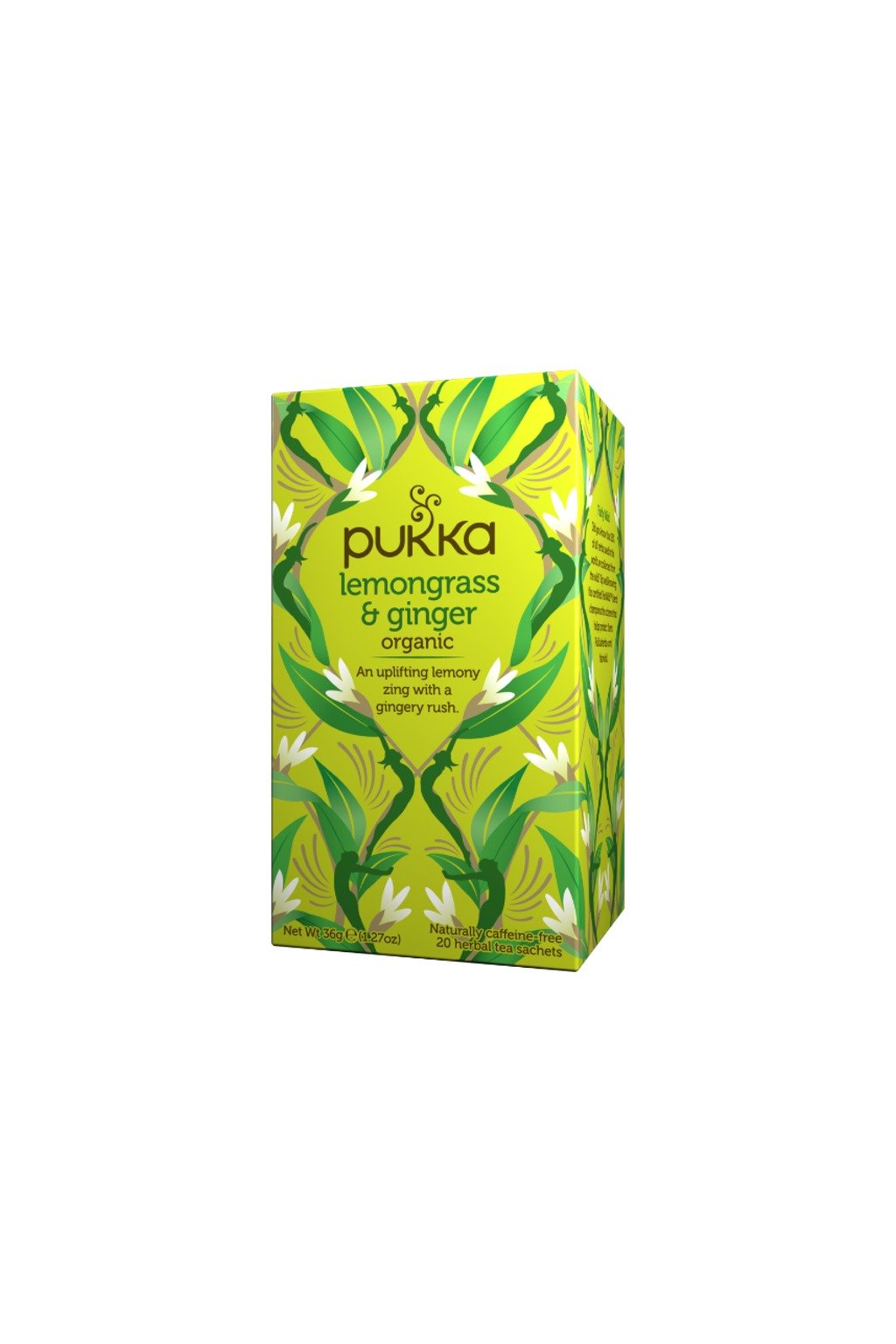 SAMAY Pukka Caj Citronova trava Zazvor BIO Fairtrade