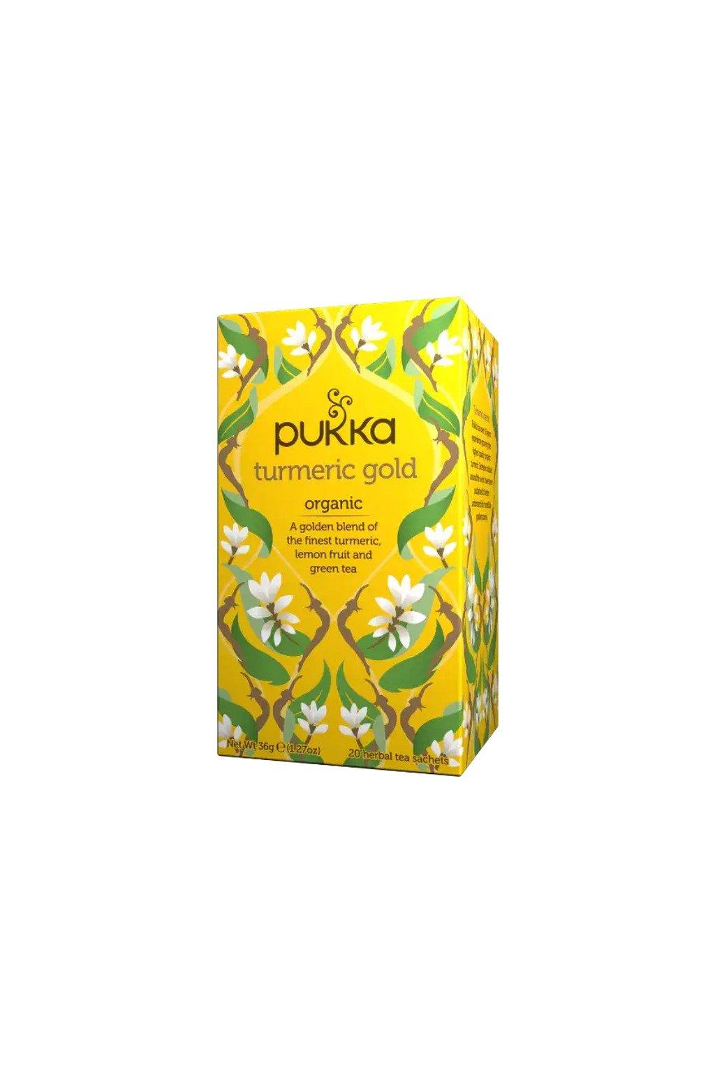 SAMAY Caj kurkumovy Pukka Turmeric Gold BIO Fairtrade