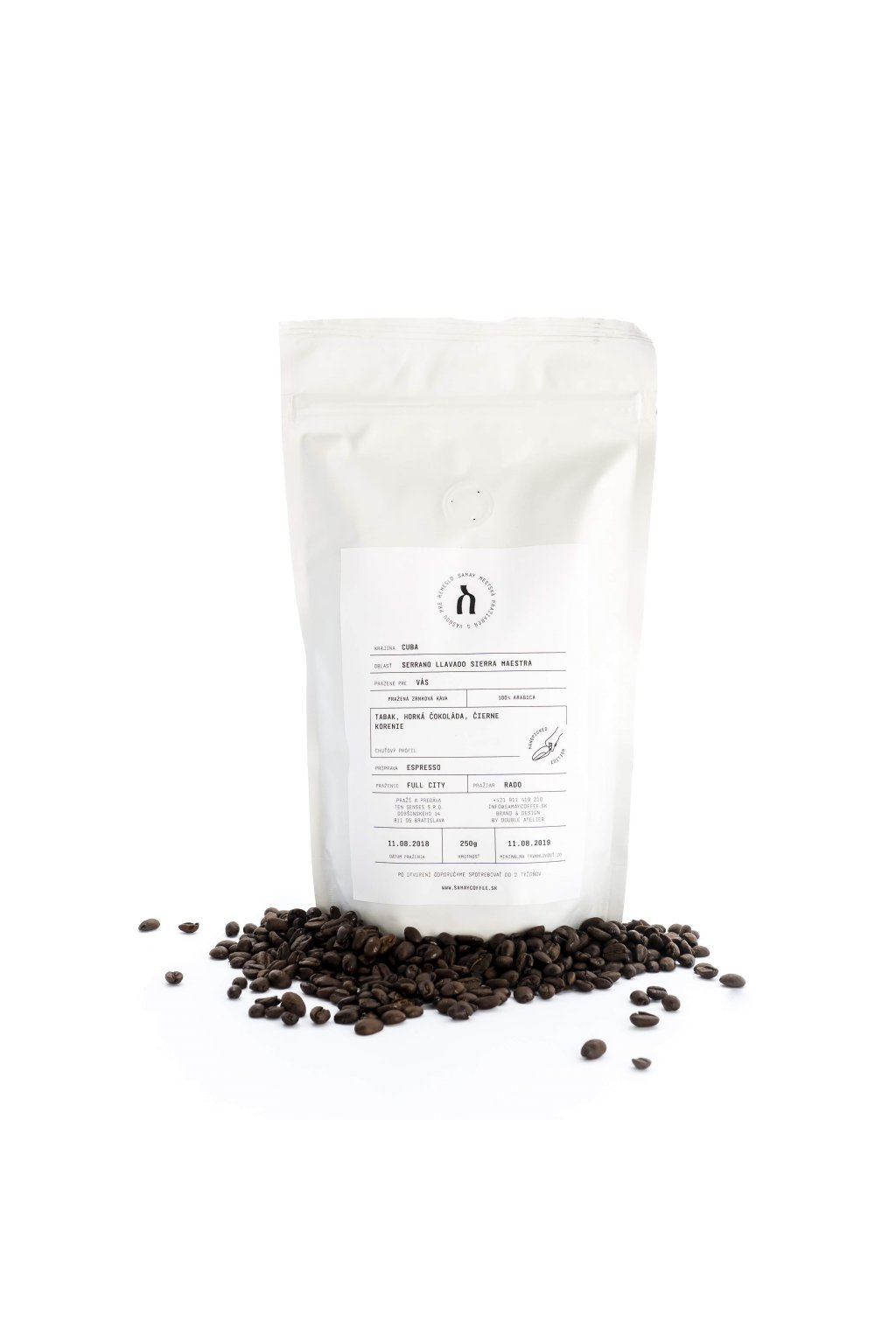 Samay Coffee Cuba Serano Llavado, 250g