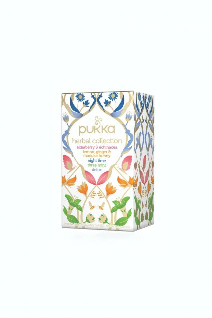SAMAY Bylinkovy caj Herbal collection BIO Fairtrade PUKKA