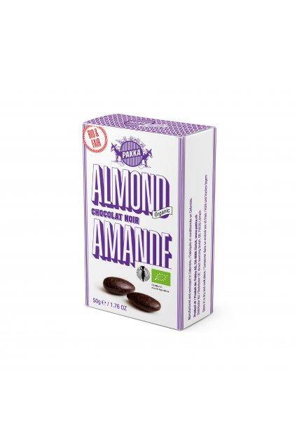 PAKKA Mandle v cokolade 50g web