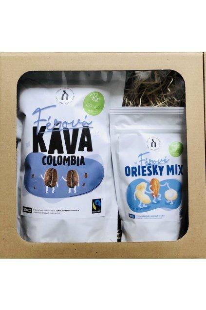 SAMAY Darcekovy set BIO Fairtrade Kava Colombia Oriesky Mix web