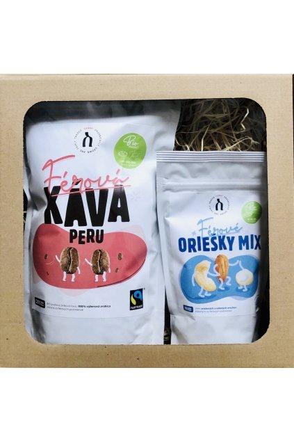 SAMAY Darcekovy set BIO Fairtrade Kava Peru Oriesky mix web