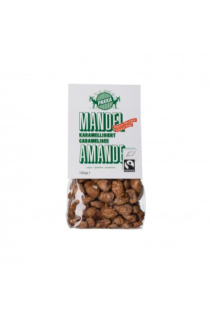 500501 Pakka Mandel karamellisiert 150g