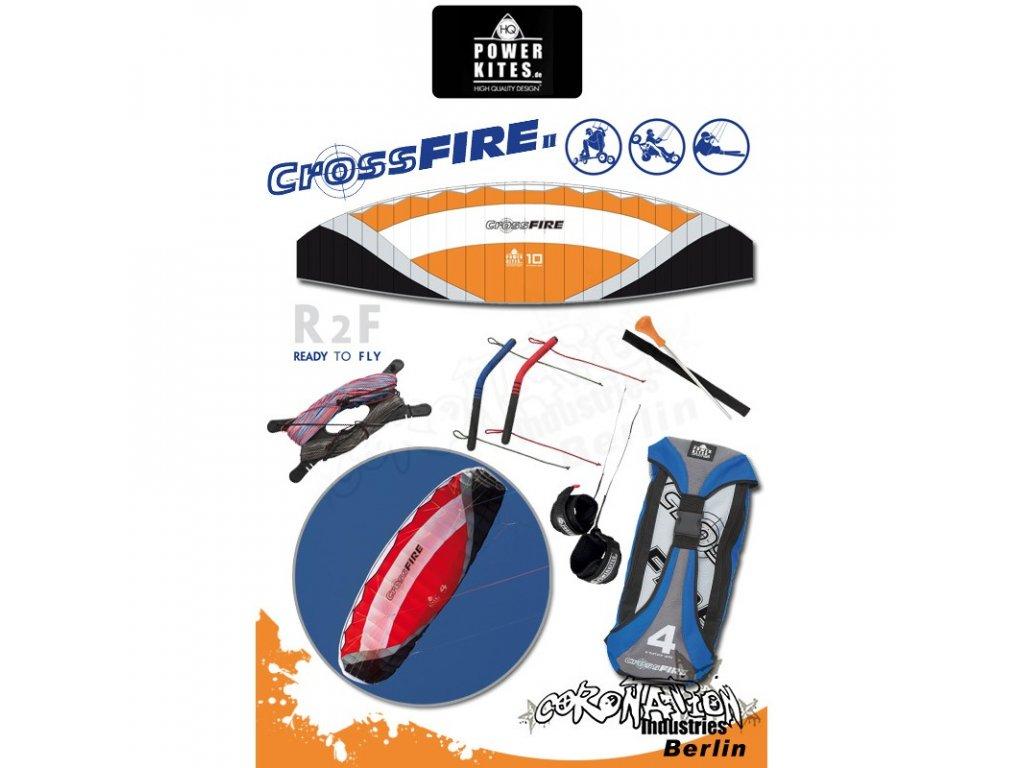HQ Powerkites Crossfire II 10.0