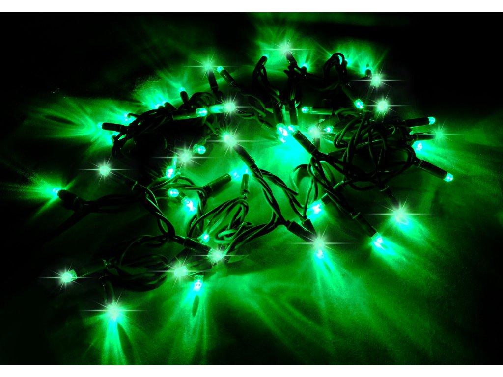 String Lite zelená/zelený kábel 12m 180LED(3x60) 230V 15W